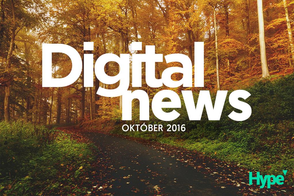 Hype digital news október