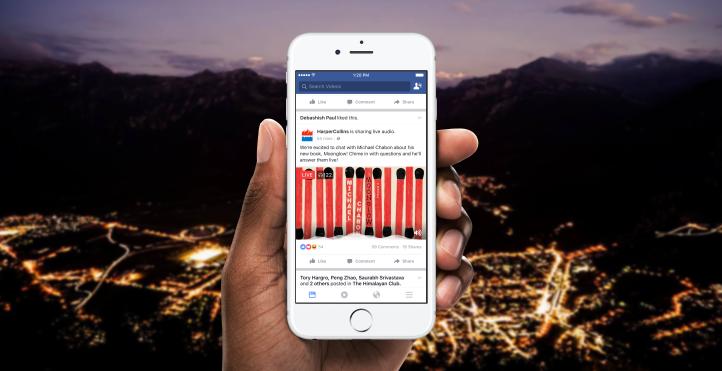 Facebook live audio Hype.sk Digital News