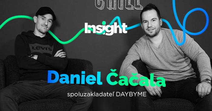 Dany Čačala, DayByMe: aplikácia, ktorá predbehla Facebook